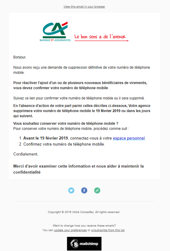mail phishing